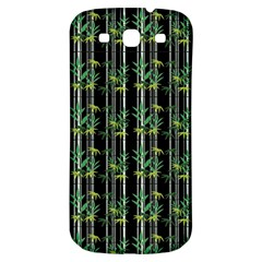 Bamboo Pattern Samsung Galaxy S3 S Iii Classic Hardshell Back Case by ValentinaDesign