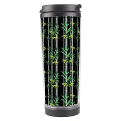 Bamboo Pattern Travel Tumbler by ValentinaDesign
