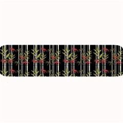 Bamboo Pattern Large Bar Mats by ValentinaDesign
