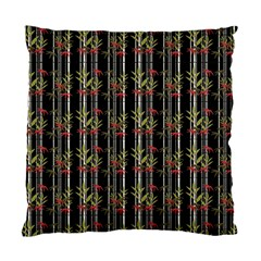 Bamboo Pattern Standard Cushion Case (one Side) by ValentinaDesign