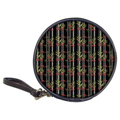 Bamboo Pattern Classic 20 Cd Wallets by ValentinaDesign