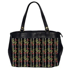 Bamboo Pattern Office Handbags (2 Sides)  by ValentinaDesign