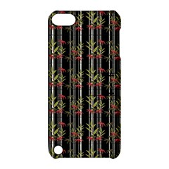 Bamboo Pattern Apple Ipod Touch 5 Hardshell Case With Stand by ValentinaDesign