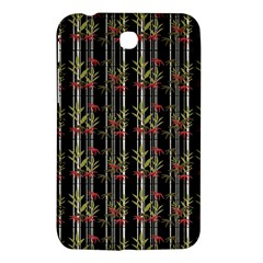 Bamboo Pattern Samsung Galaxy Tab 3 (7 ) P3200 Hardshell Case  by ValentinaDesign