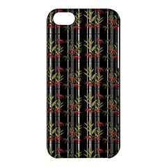 Bamboo Pattern Apple Iphone 5c Hardshell Case by ValentinaDesign