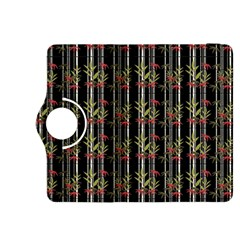 Bamboo Pattern Kindle Fire Hdx 8 9  Flip 360 Case by ValentinaDesign
