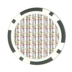 Bamboo Pattern Poker Chip Card Guard by ValentinaDesign