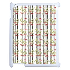 Bamboo Pattern Apple Ipad 2 Case (white) by ValentinaDesign