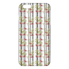 Bamboo Pattern Iphone 6 Plus/6s Plus Tpu Case by ValentinaDesign