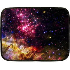 Space Colors Double Sided Fleece Blanket (mini)  by ValentinaDesign