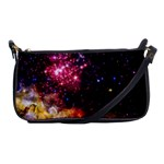 Space colors Shoulder Clutch Bags Front