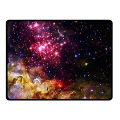 Space Colors Fleece Blanket (small) by ValentinaDesign
