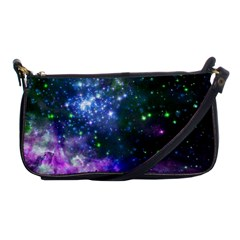 Space Colors Shoulder Clutch Bags by ValentinaDesign