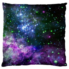 Space Colors Large Cushion Case (two Sides) by ValentinaDesign