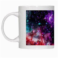 Space Colors White Mugs by ValentinaDesign
