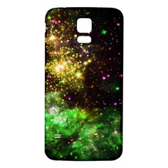 Space Colors Samsung Galaxy S5 Back Case (white) by ValentinaDesign