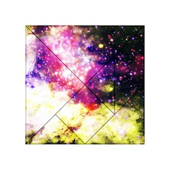 Space Colors Acrylic Tangram Puzzle (4  X 4 ) by ValentinaDesign