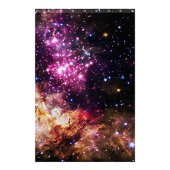 Space Colors Shower Curtain 48  X 72  (small)  by ValentinaDesign