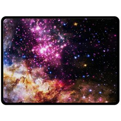 Space Colors Double Sided Fleece Blanket (large)  by ValentinaDesign