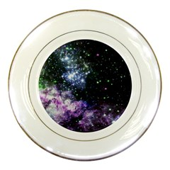 Space Colors Porcelain Plates by ValentinaDesign