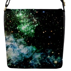 Space Colors Flap Messenger Bag (s) by ValentinaDesign