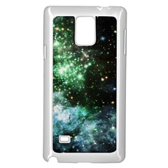 Space Colors Samsung Galaxy Note 4 Case (white) by ValentinaDesign