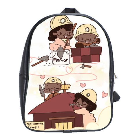 Backpack Mama & Papa Reed By S Morishita   School Bag (xl)   B4fy9xm3nt2p   Www Artscow Com Front