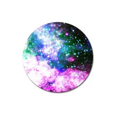 Space Colors Magnet 3  (round) by ValentinaDesign