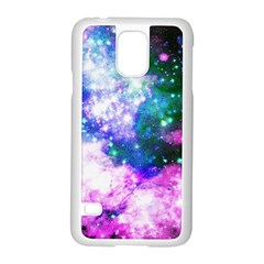 Space Colors Samsung Galaxy S5 Case (white) by ValentinaDesign