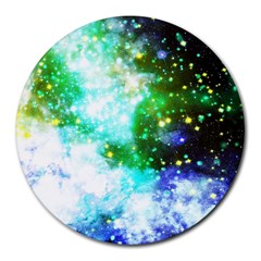 Space Colors Round Mousepads by ValentinaDesign