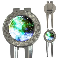Space Colors 3 In 1 Golf Divots by ValentinaDesign