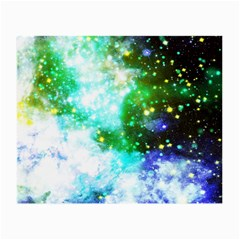 Space Colors Small Glasses Cloth (2 Side) by ValentinaDesign