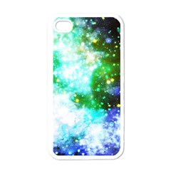 Space Colors Apple Iphone 4 Case (white) by ValentinaDesign