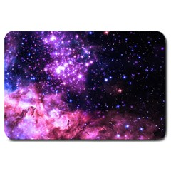 Space Colors Large Doormat  by ValentinaDesign