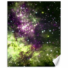 Space Colors Canvas 11  X 14   by ValentinaDesign