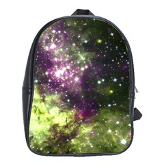 Space Colors School Bag (xl) by ValentinaDesign