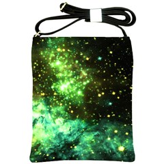 Space Colors Shoulder Sling Bags by ValentinaDesign