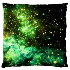 Space Colors Large Flano Cushion Case (one Side) by ValentinaDesign