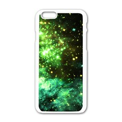 Space Colors Apple Iphone 6/6s White Enamel Case by ValentinaDesign