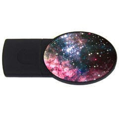 Space Colors Usb Flash Drive Oval (4 Gb) by ValentinaDesign