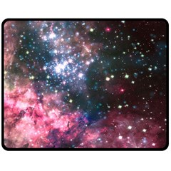 Space Colors Double Sided Fleece Blanket (medium)  by ValentinaDesign