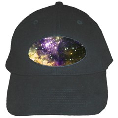 Space Colors Black Cap by ValentinaDesign