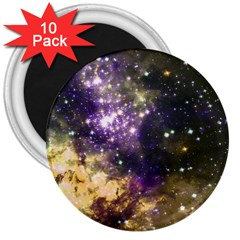 Space Colors 3  Magnets (10 Pack)  by ValentinaDesign