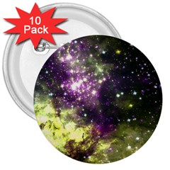 Space Colors 3  Buttons (10 Pack)  by ValentinaDesign