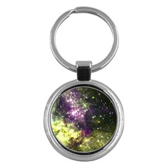 Space Colors Key Chains (round)  by ValentinaDesign