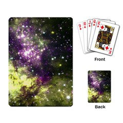 Space Colors Playing Card by ValentinaDesign