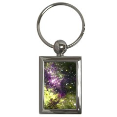 Space Colors Key Chains (rectangle)  by ValentinaDesign