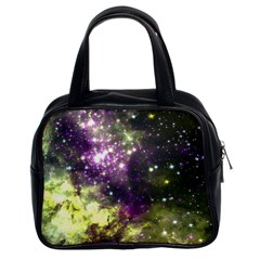 Space Colors Classic Handbags (2 Sides) by ValentinaDesign