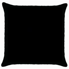Space Colors Throw Pillow Case (black) by ValentinaDesign