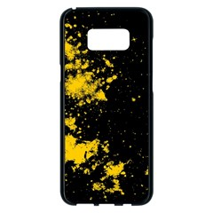 Space Colors Samsung Galaxy S8 Plus Black Seamless Case by ValentinaDesign